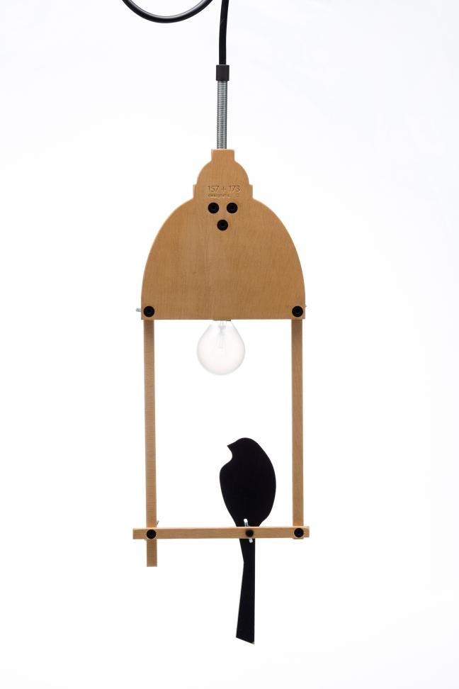 ceiling bird lamp 2