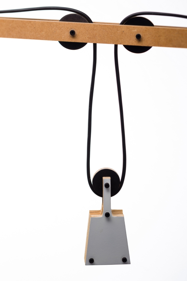 lamp with weight 1