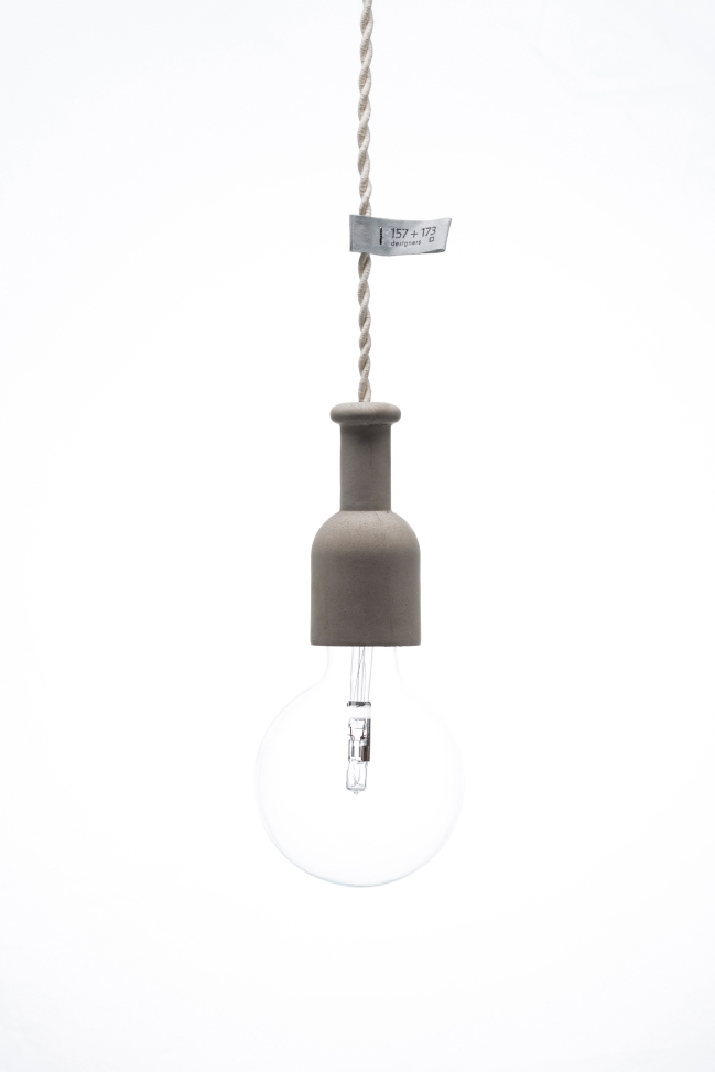 ceiling concrete lamp small 4